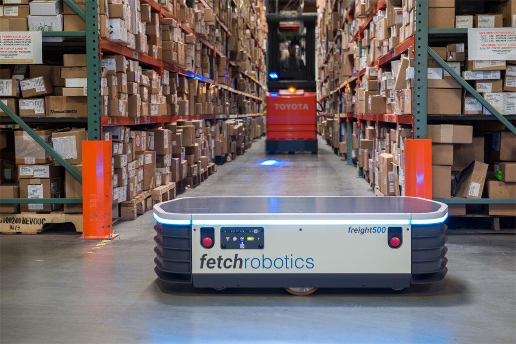 Autonomous robots used to meet e-commerce demands at warehouses