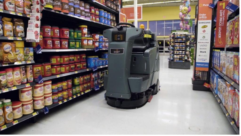 robot janitors Walmart