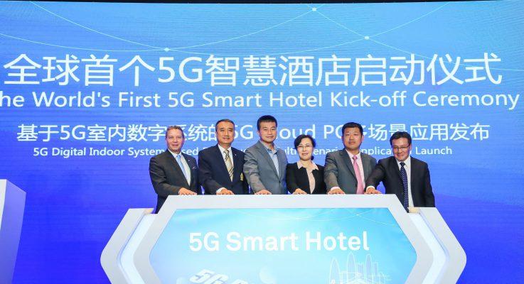 Huawei, Shenzhen Telecom kick off 5G smart hotel project in China