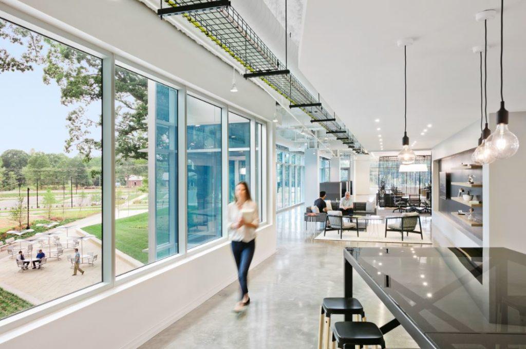 Corning smart building